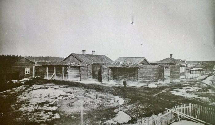 Kajaanin vankila 1800- luvun lopulla