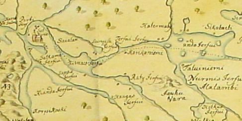 kartta1 Kurikkaniemi - Kurikka