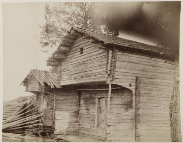 Jäätiön talojen kammioaittoja Y.B 1894